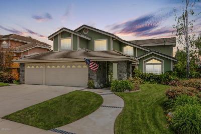 Camarillo Single Family Home Active Under Contract: 1924 Sierra Mesa Drive