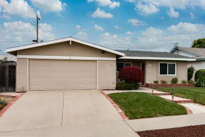Ventura Single Family Home Active Under Contract: 349 Baker Avenue