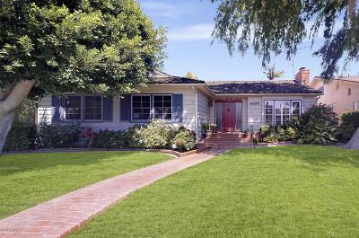 Single Family Home For Sale: 4430 Cerritos Avenue