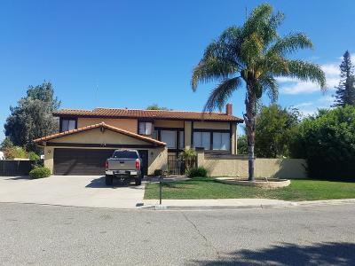 Simi Valley Single Family Home For Sale: 562 Pinecliff Place
