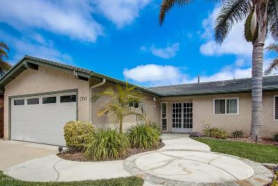 Ventura Single Family Home For Sale: 2150 Antelope Avenue