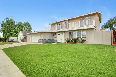 Ventura Single Family Home Active Under Contract: 1289 Rugby Avenue