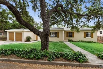 Santa Paula Single Family Home Active Under Contract: 1148 Fern Oaks Drive
