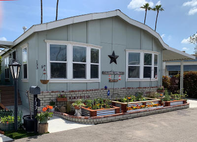 Camarillo Mobile Home For Sale: 4388 Central Avenue #133