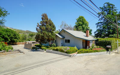 Santa Paula Single Family Home For Sale: 4076 Ojai Road