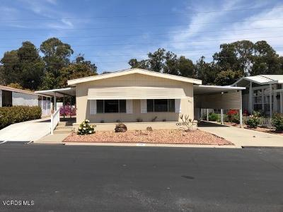 Ventura Mobile Home Active Under Contract: 198 Browning Avenue