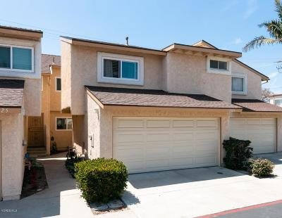 Oxnard Condo/Townhouse Active Under Contract: 5323 Barrymore Drive
