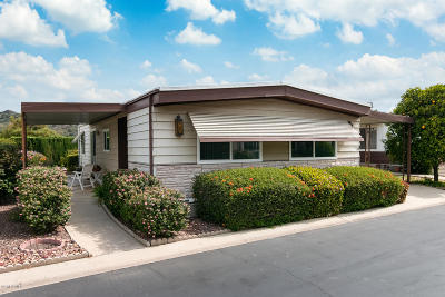 Camarillo Mobile Home Active Under Contract: 13 Gitana Avenue #146