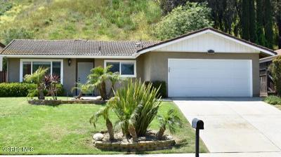 Santa Paula Single Family Home Active Under Contract: 1742 Cherry Hill Road