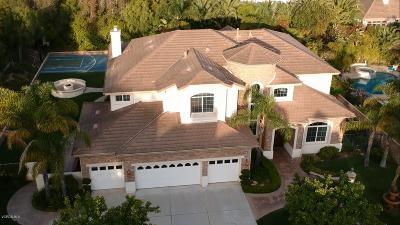 Camarillo Single Family Home Active Under Contract: 2160 Woodcreek Road