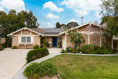 Ventura Single Family Home Active Under Contract: 860 Elko Avenue