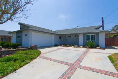 Camarillo Single Family Home Active Under Contract: 569 Walker Avenue
