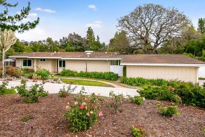 Camarillo Single Family Home Active Under Contract: 156 La Crescenta Drive
