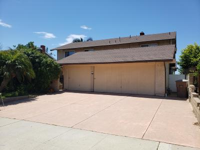 Ventura Single Family Home Active Under Contract: 2547 Scoter Avenue
