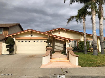 Oxnard Single Family Home For Sale: 140 J Street