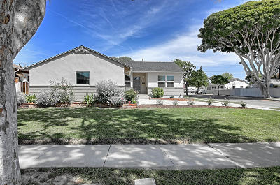 Ventura Single Family Home Active Under Contract: 500 S Dos Caminos Avenue