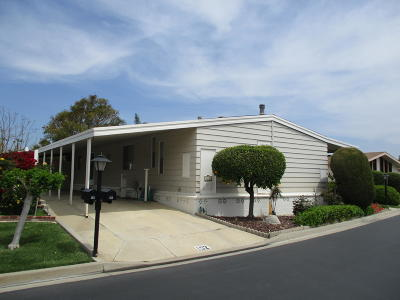 Camarillo Mobile Home For Sale: 152 Rancho Adolfo Drive #66