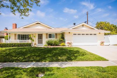 Camarillo Single Family Home Active Under Contract: 1949 Abbott Avenue