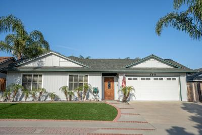 Ventura Single Family Home Active Under Contract: 290 Dana Point Avenue