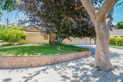 Ventura Single Family Home For Sale: 763 Montgomery Place