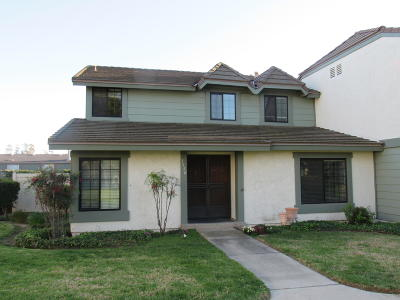 Oxnard Condo/Townhouse For Sale: 3550 Olds Road