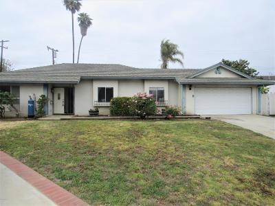 Ventura Single Family Home Active Under Contract: 6347 Martin Court