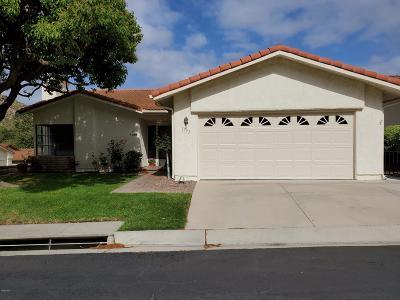 Camarillo Single Family Home Active Under Contract: 1193 Itamo Street