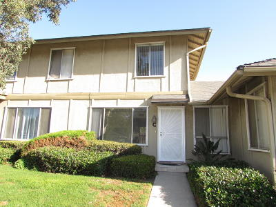 Oxnard Condo/Townhouse For Sale: 1941 Fisher Drive #C