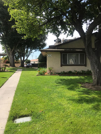 Oxnard CA Condo/Townhouse Active Under Contract: $279,000