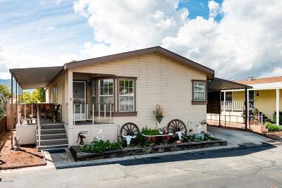 Fillmore Mobile Home For Sale: 250 E Telegraph Road #303