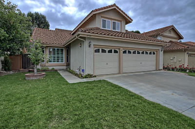 Ventura County Single Family Home Active Under Contract: 4780 Via Cupertino