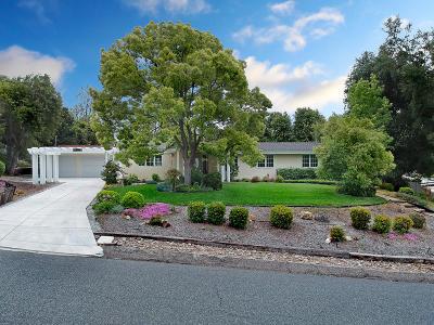 Thousand Oaks Single Family Home Active Under Contract: 1362 La Peresa Drive