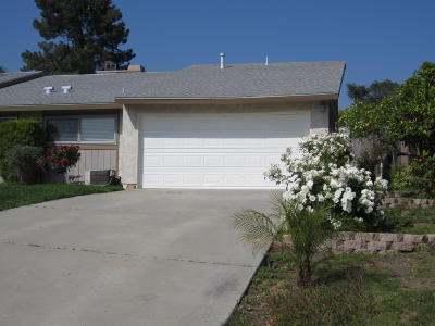 Moorpark Single Family Home For Sale: 15059 Marquette Street