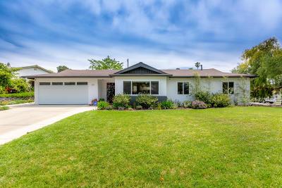 Thousand Oaks Single Family Home Active Under Contract: 810 Calle Ciruelo
