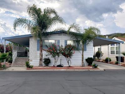 Fillmore Mobile Home Active Under Contract: 250 E Telegraph Road #203