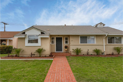 Oxnard Single Family Home For Sale: 645 Devonshire Drive