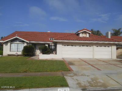 Simi Valley Single Family Home For Sale: 2761 Georgette Place
