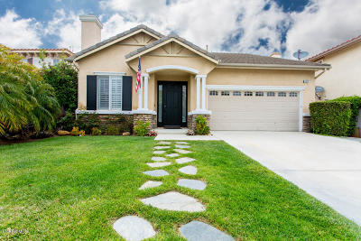 Newbury Park Single Family Home For Sale: 4672 Calle San Juan