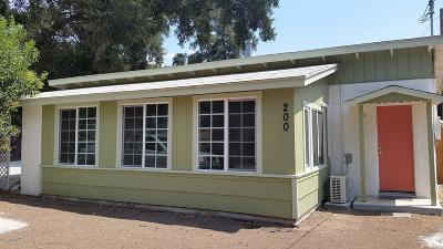Ojai Single Family Home For Sale: 200 Poli Street
