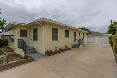 Fillmore Single Family Home Active Under Contract: 753 3rd Street