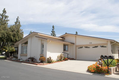 Ventura Single Family Home Active Under Contract: 1220 Johnson Drive #126