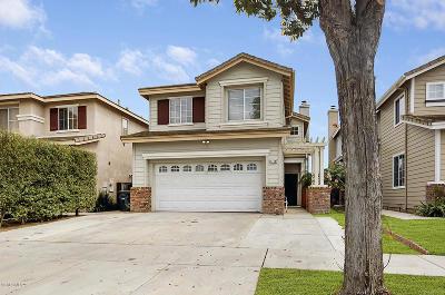 Oxnard Single Family Home For Sale: 1710 Licho Way