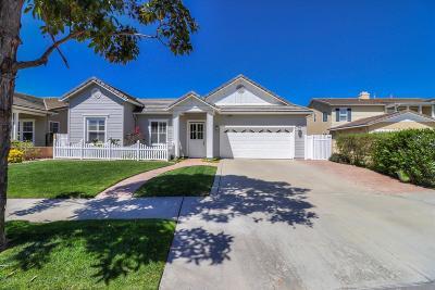 Oxnard Single Family Home For Sale: 2031 Shadow Creek Drive