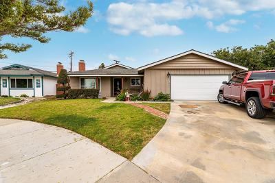 Oxnard CA Single Family Home For Sale: $585,000