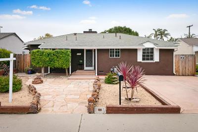 Oxnard Single Family Home Active Under Contract: 1045 Deodar Avenue