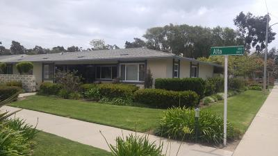 Port Hueneme Single Family Home Active Under Contract: 104 E Alta Green