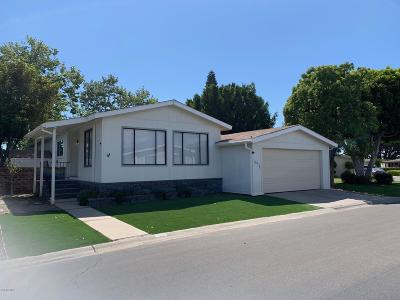 Oxnard Mobile Home Active Under Contract: 2491 Apple Lane #100