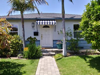Ventura Single Family Home For Sale: 95 S Seaward Avenue
