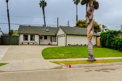 Ventura Single Family Home Active Under Contract: 4025 Ivy Street