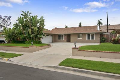 Camarillo Single Family Home For Sale: 1153 Jay Avenue